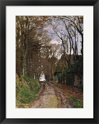 Framed Path in Normandy Print