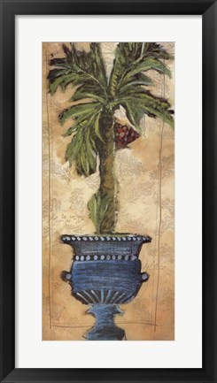 Framed Potted Palm III Print