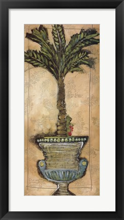 Framed Potted Palm IV Print