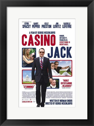 Framed Casino Jack Print