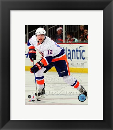 Framed Josh Bailey 2010-11 Action Print