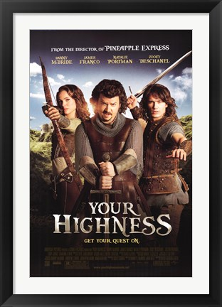 Framed Your Highness Print