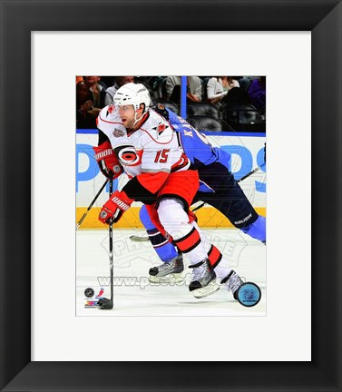 Framed Tuomo Ruutu on the ice 2010-11 Print