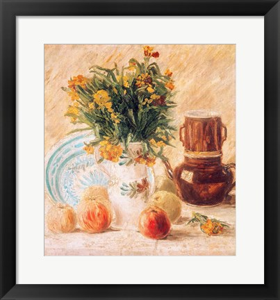 Framed Still Life, 1887 Print