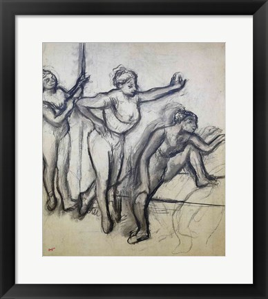 Framed Three Dancers Print
