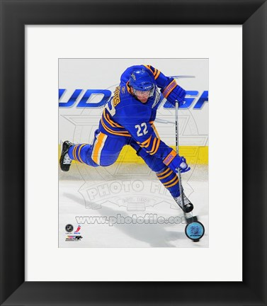 Framed Brad Boyes 2010-11 Action Print