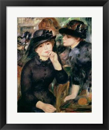 Framed Girls in Black, 1881-82 Print