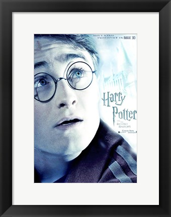 Framed Harry Potter and the Deathly Hallows: Part II - Harry Print