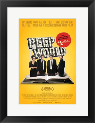 Framed Peep World Print