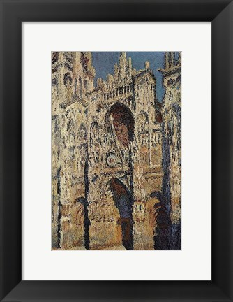 Framed Portal and the Tour d'Albane in the Sunlight, 1984 Print