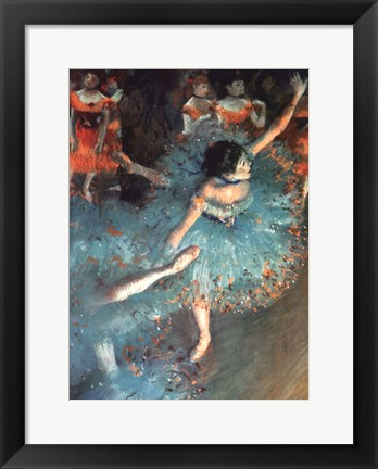 Framed Dancer Print