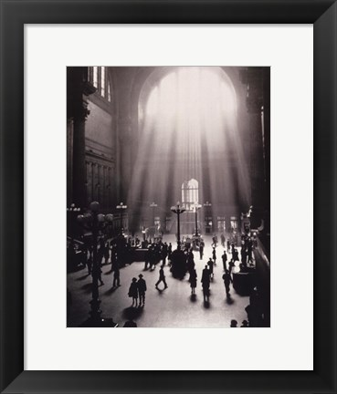 Framed Penn Station Print