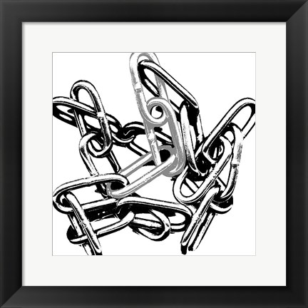 Framed In Chains Print