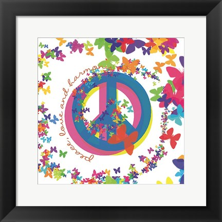 peace love and harmony artwork by erin clark at. Black Bedroom Furniture Sets. Home Design Ideas
