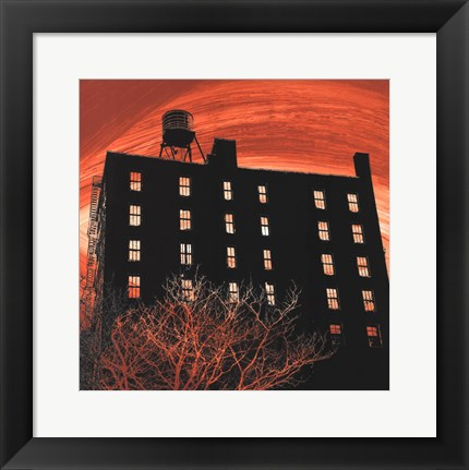 Framed Tribeca Twilight Print