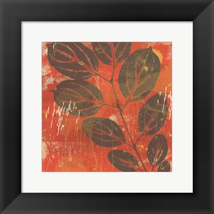 Framed Exotic Vine Print