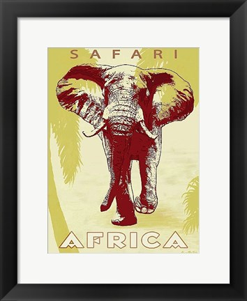 Framed Safari Africa Print