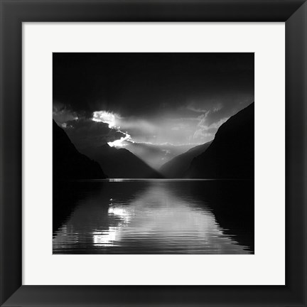 Framed Norway 78 Print