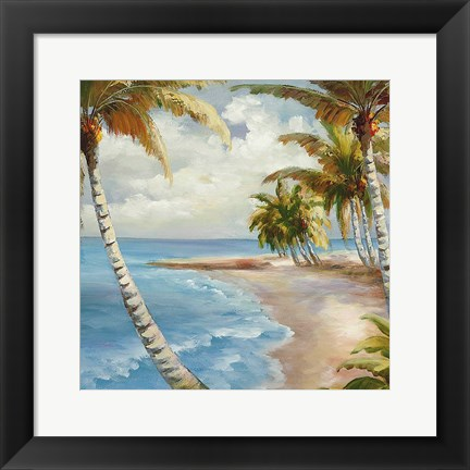 Framed Palm Paradise Print