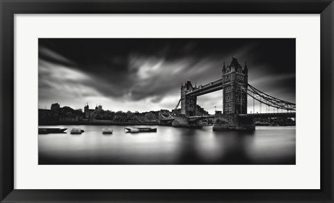 Framed Tower Bridge Print