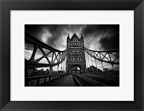 Framed London Tower Bridge Print