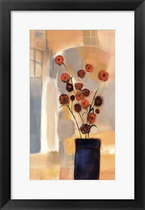 Framed Flowers in the Archway Print