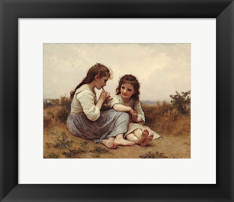 Framed Childhood Idyll Print