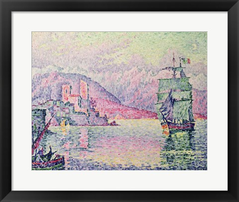 Framed Antibes, Evening, 1914 Print