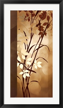 Framed Golden Heights II Print