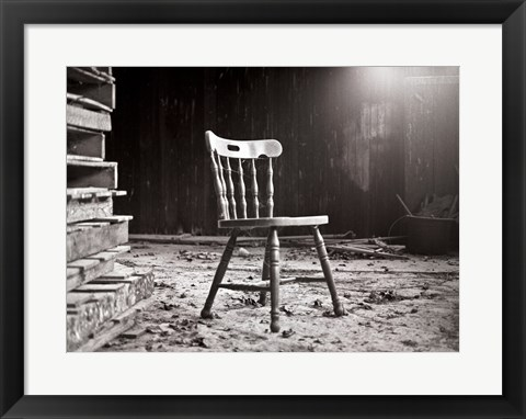 Framed Chair Print