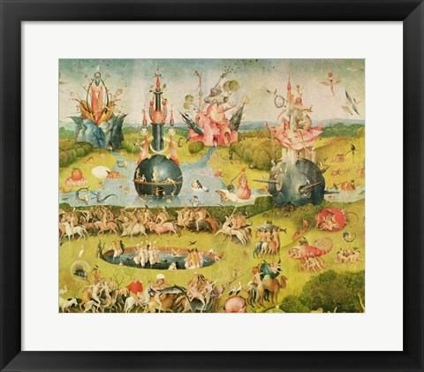 Garden Of Earthly Delights Allegory Of Luxury Central