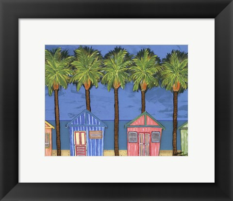 Framed Cabana Breeze - mini Print