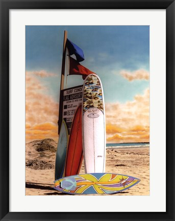 Framed Surf Conditions Print