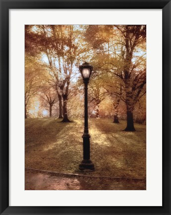 Framed Autumn in the Park Print