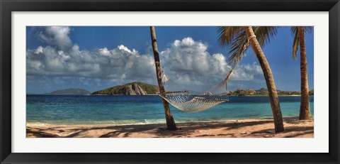 Framed Beach Dream I Print