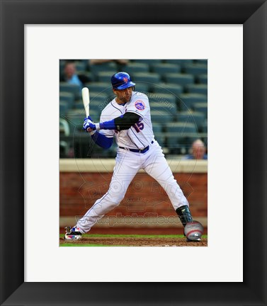 Framed Carlos Beltran 2011 Action Print