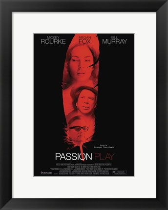 Framed Passion Play Print