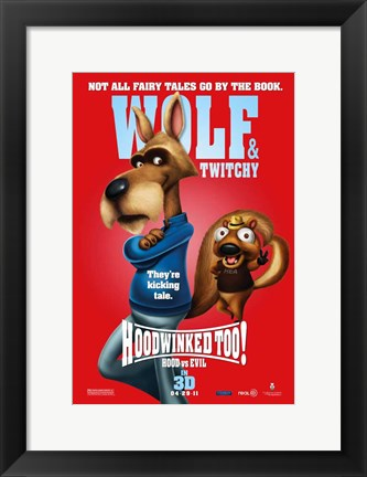 Framed Hoodwinked Too! Hood VS. Evil Print