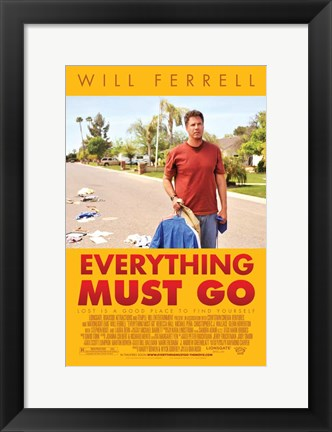 Framed Everything Must Go Print