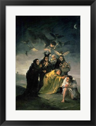 Framed Witches' Sabbath Print