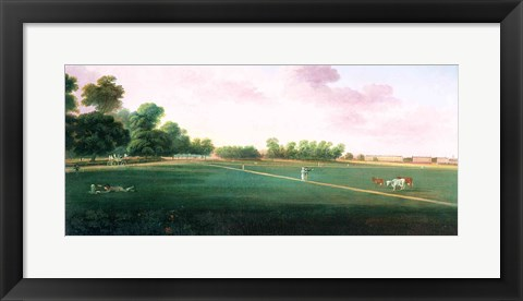 Framed View of Hyde Park Print