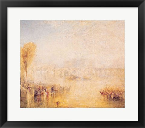 Framed View of the Pont Neuf, Paris Print