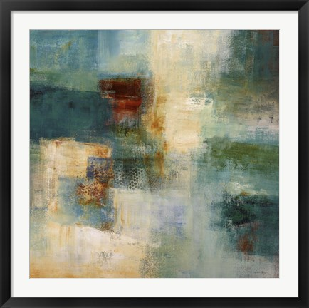 Framed Abstract I Print