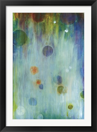 Framed Blown Glass Print