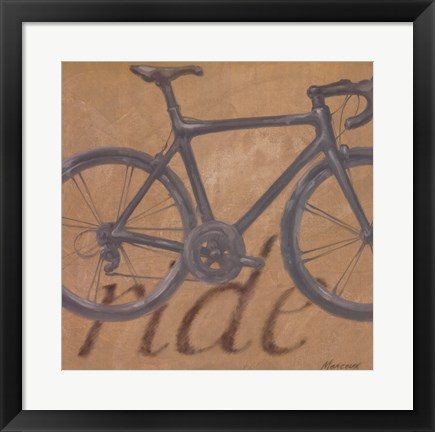 Framed Ride Print