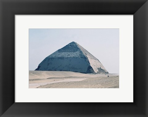 Framed Bent Pyramid Print