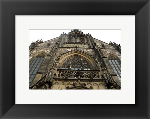 Framed Gothic Architecture Cathedral Print
