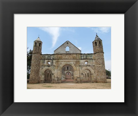 Framed Ruined Monastery Print