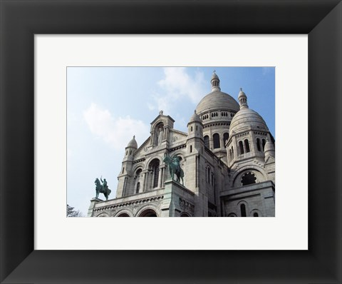 Framed Sacre Coeur Paris France Print
