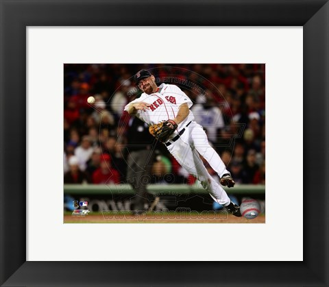 Framed Kevin Youkilis 2011 Action Print